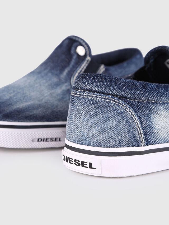 KIDS SLIP ON 21 DENIM YO, Blu Jeans - Scarpe - Image 5