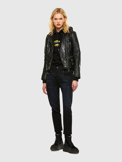Diesel - Fayza 084AY, Blu Scuro - Jeans - Image 5