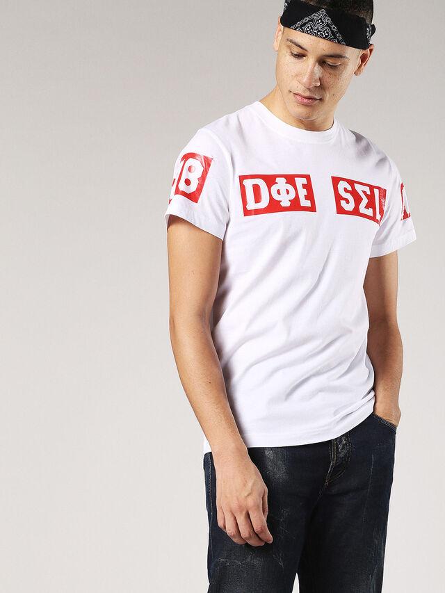 T-DIEGO-SO, Bianco