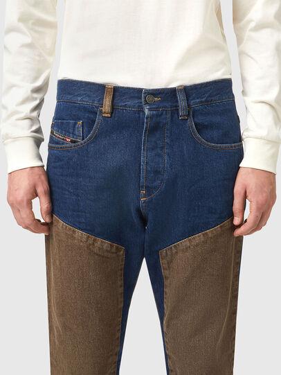 Diesel - D-Viker 0AFAK, Blu Scuro - Jeans - Image 3