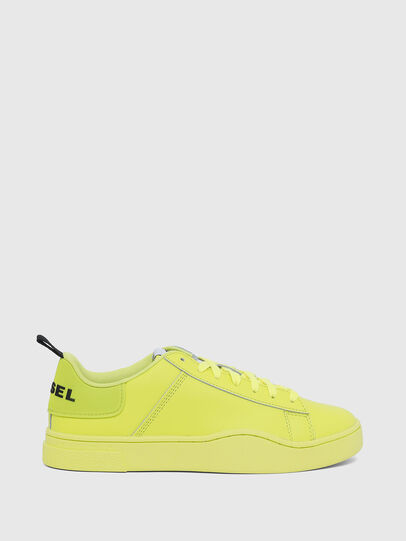 Diesel - S-CLEVER LOW LACE W, Giallo Fluo - Sneakers - Image 1