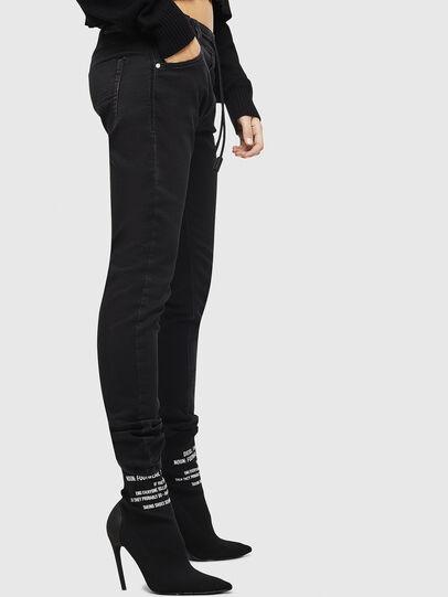Diesel - Krailey JoggJeans 0687Z, Nero/Grigio scuro - Jeans - Image 6