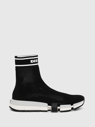 Diesel - H-PADOLA NET W, Nero - Sneakers - Image 1