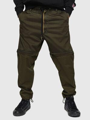 P-CASHORT, Verde Militare - Pantaloni