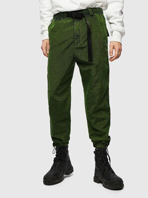 P-BERG, Verde - Pantaloni