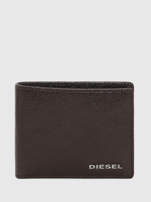 Diesel - HIRESH XS, Marrone - Portafogli Piccoli - Image 1