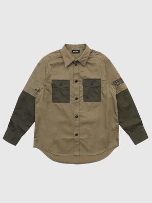 CSKOSOV OVER, Verde Militare - Camicie