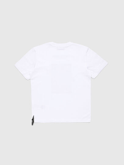 Diesel - TJUSTY7, Bianco - T-shirts e Tops - Image 2