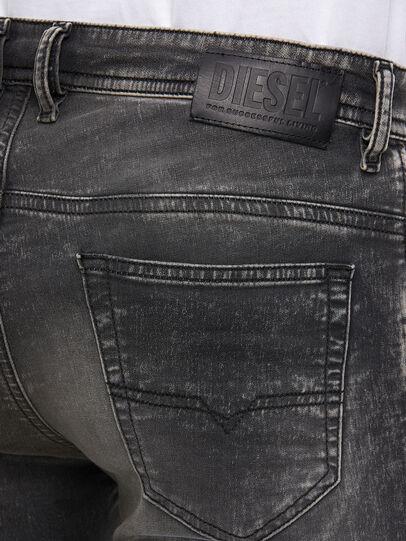 Diesel - Thommer JoggJeans® 009KC, Nero/Grigio scuro - Jeans - Image 4