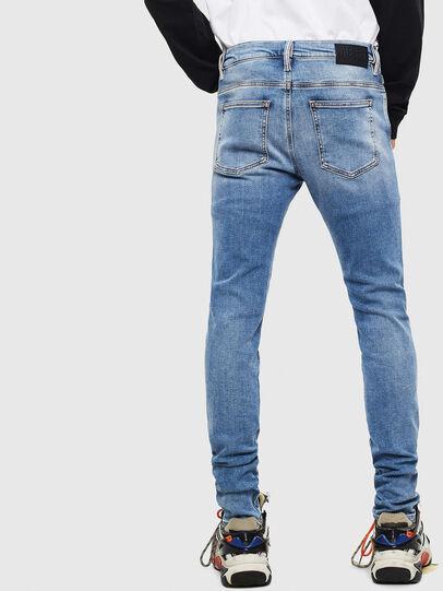 Diesel - D-Istort 009BG, Blu medio - Jeans - Image 2