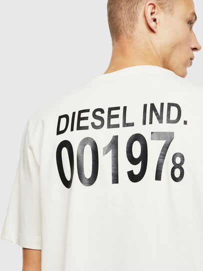 Diesel - T-JUST-VINT, Bianco - T-Shirts - Image 3