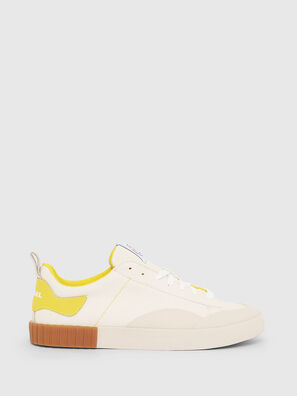 S-BULLY LC, Bianco/Giallo - Sneakers