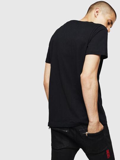 Diesel - T-DIEGO-B6, Nero - T-Shirts - Image 2