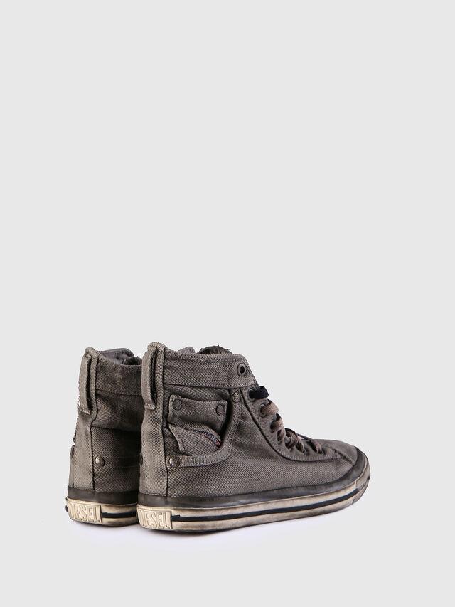 Diesel - EXPOSURE IV W, Grigio Jeans - Sneakers - Image 3
