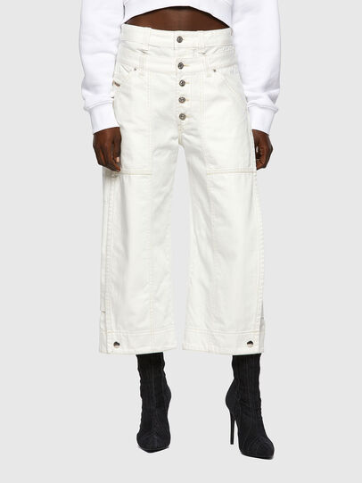 Diesel - D-Laly 0HDAI, Bianco - Jeans - Image 1