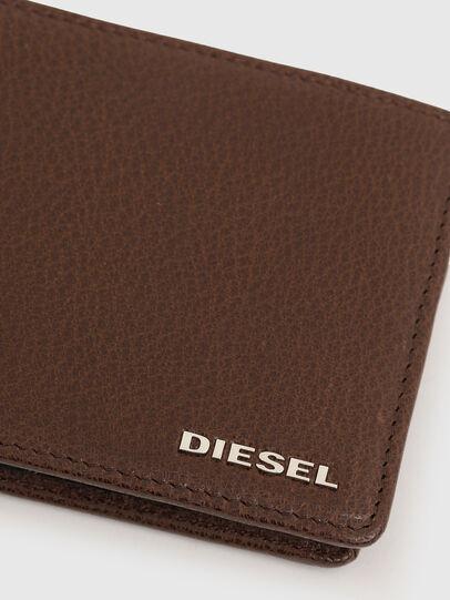 Diesel - HIRESH S, Marrone - Portafogli Piccoli - Image 4