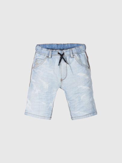 Diesel - KROOLEY-NE-J SH, Blu Chiaro - Shorts - Image 1