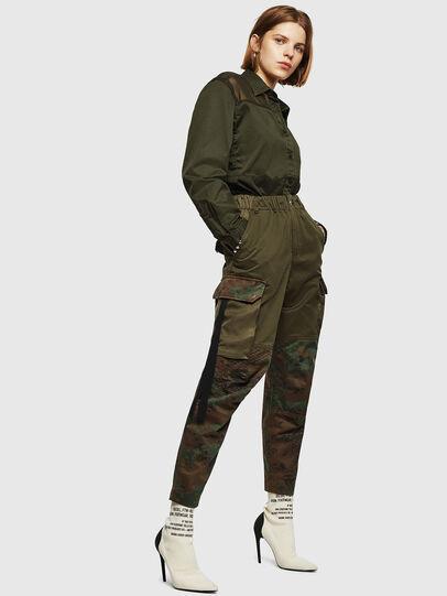 Diesel - P-THENA-A, Verde Camo - Pantaloni - Image 6