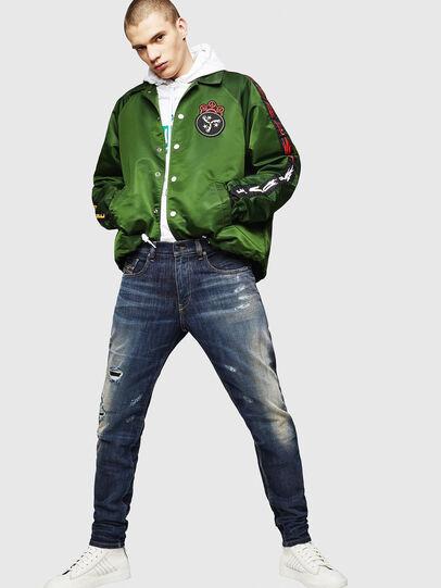 Diesel - D-Strukt 0890W, Blu Scuro - Jeans - Image 5