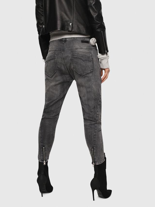 Diesel - Fayza JoggJeans 8880U, Nero/Grigio scuro - Jeans - Image 2
