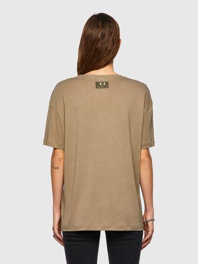 Diesel - T-ENKA-C.C, Marrone Chiaro - T-Shirts - Image 2