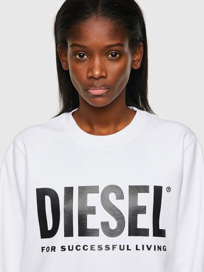 Diesel - F-ANGS-ECOLOGO, Nero/Bianco - Felpe - Image 3