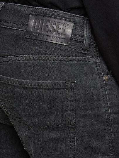 Diesel - Sleenker 009LY, Nero/Grigio scuro - Jeans - Image 4