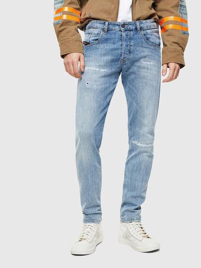 Diesel - D-Bazer 0095V, Blu Chiaro - Jeans - Image 1
