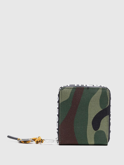 Diesel - HIRESH XS ZIPPI, Multicolor/Marrone - Portafogli Con Zip - Image 2