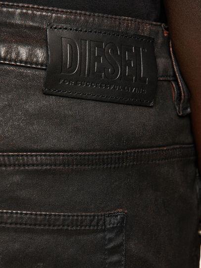 Diesel - FAYZA JoggJeans® 069PG, Nero/Arancio - Jeans - Image 4