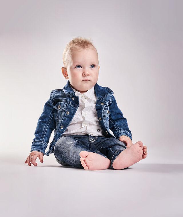 Diesel - JAFFYB JOGGJEANS J, Blu Jeans - Giacche - Image 1