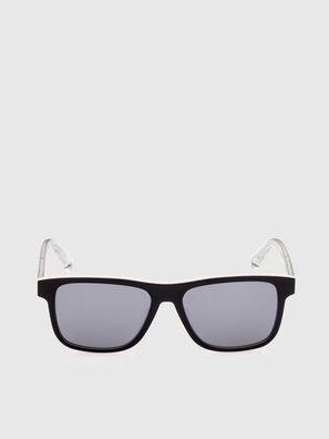 DL0279, Bianco/Arancione - Occhiali da sole