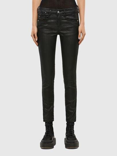 Diesel - D-Ollies JoggJeans® 069QJ, Nero/Grigio scuro - Jeans - Image 1