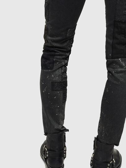 Diesel - D-Strukt 0093P, Nero/Grigio scuro - Jeans - Image 8