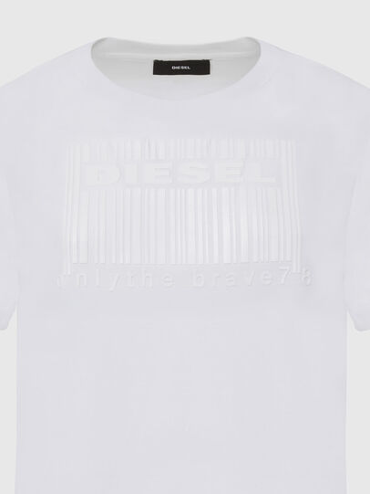 Diesel - T-DARIA-E2, Bianco - T-Shirts - Image 3