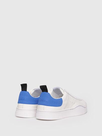 Diesel - S-CLEVER LOW, Bianco/Blu - Sneakers - Image 3