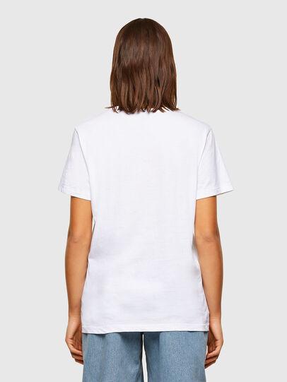 Diesel - T-DARIA-R3, Bianco - T-Shirts - Image 2