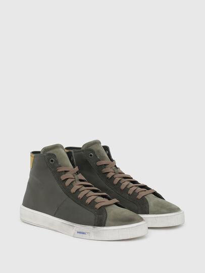 Diesel - S-MYDORI MC, Verde Militare - Sneakers - Image 2