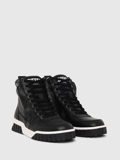 Diesel - S-RUA MID, Nero - Sneakers - Image 2