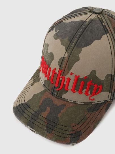 Diesel - C-RIPCA-A, Verde Militare - Cappelli - Image 3