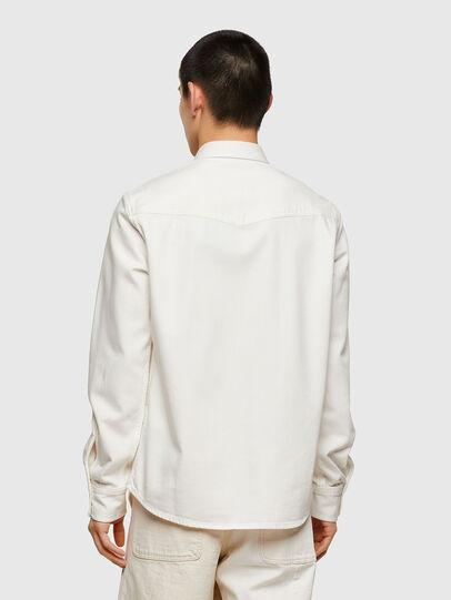 Diesel - D-EAST-P1, Bianco - Camicie in Denim - Image 2