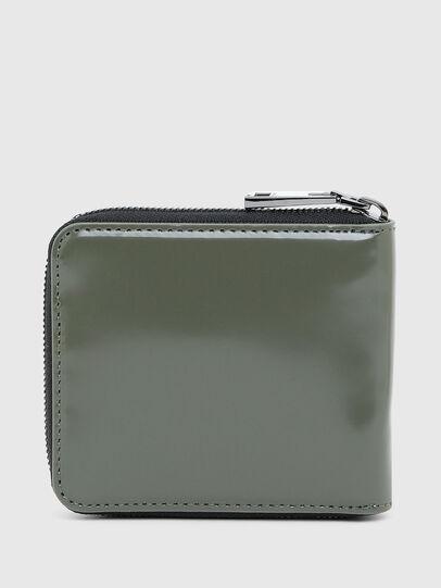 Diesel - HIRESH XS ZIPPI, Verde Militare - Portafogli Con Zip - Image 2