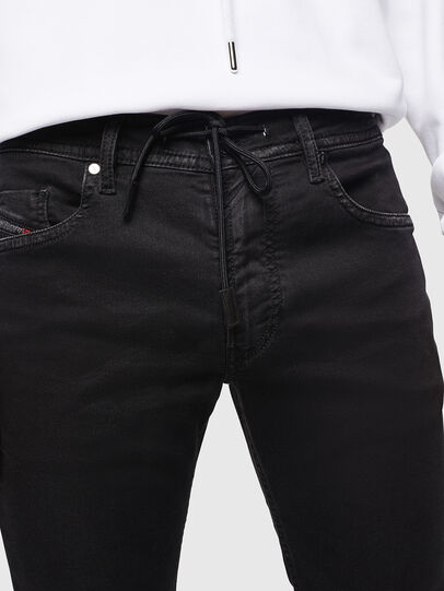 Diesel - Thommer JoggJeans 0687Z, Nero/Grigio scuro - Jeans - Image 3