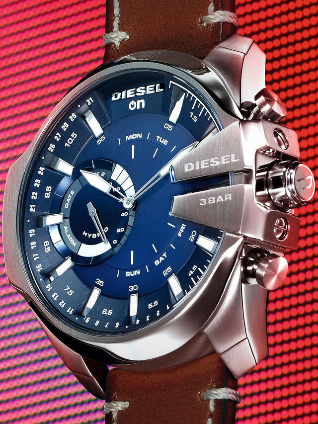 Diesel - DT1009, Marrone - Smartwatches - Image 2
