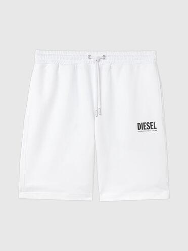 Shorts Green Label con logo stampato