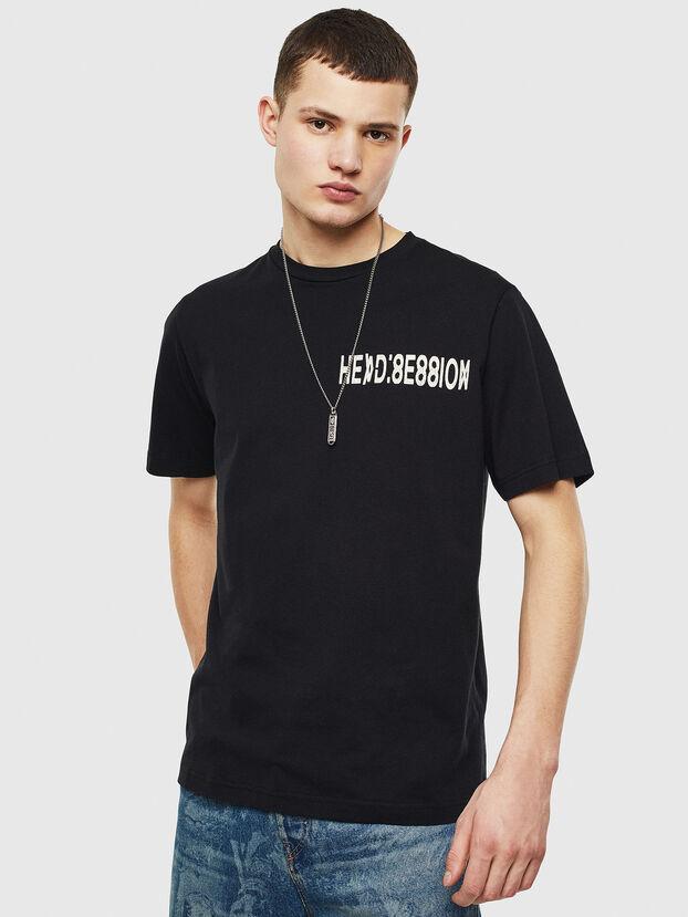 T-JUST-T10, Nero - T-Shirts