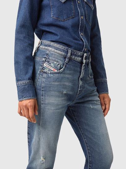 Diesel - Fayza 09A54, Blu medio - Jeans - Image 3