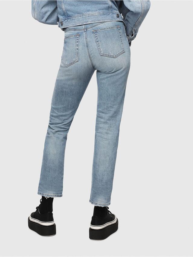 Diesel - D-Eiselle 069DY, Blu Chiaro - Jeans - Image 2