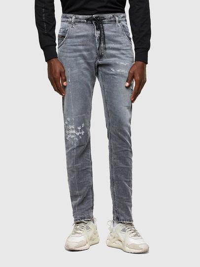 Diesel - Krooley JoggJeans® 069SN, Grigio Chiaro - Jeans - Image 1