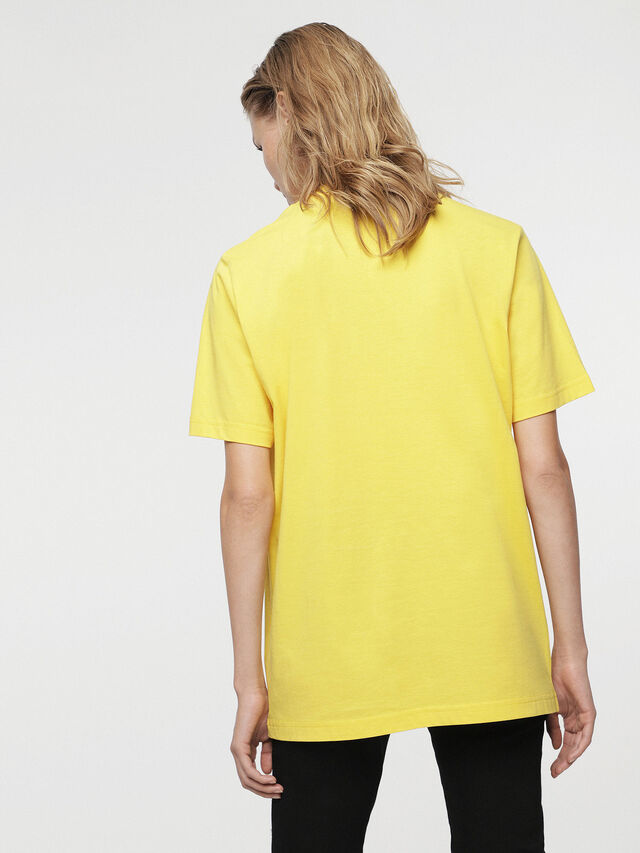 Diesel - HC-T-JUST-DIVISION-B, Giallo - T-Shirts - Image 6